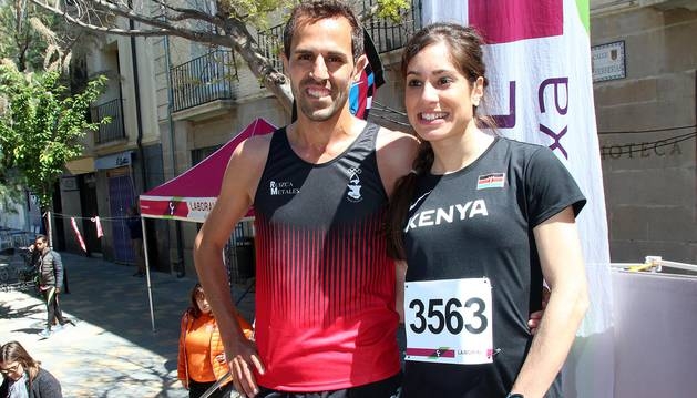 Muñoz y Carrera vencen en la Vuelta a la Mejana. Un total de 929 atletas participaron en la XXXIX edición de esta popular cita de la capital ribera
