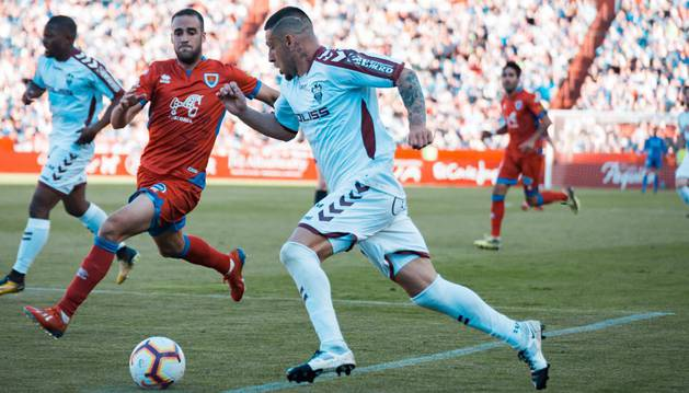foto de Un momento del partido que enfrentó a Albacete y Numancia