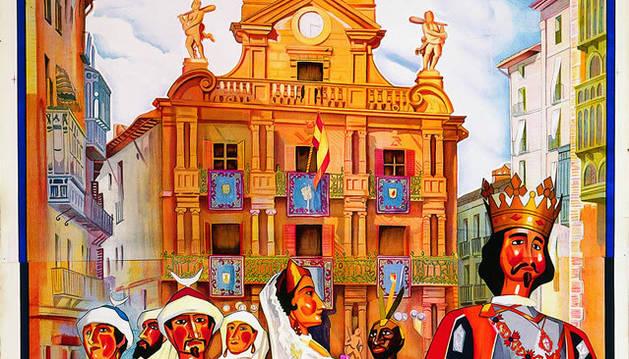 Cartel de San Fermín de 1929.