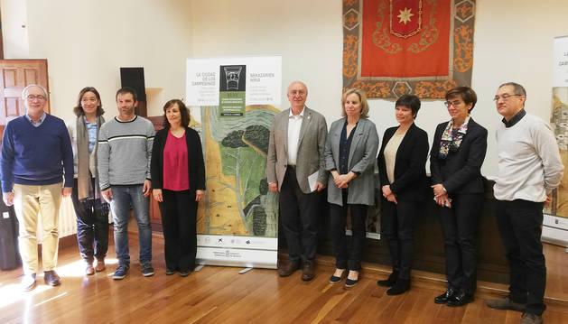 Presentación de los actos programados para la 46 Semana de Estudios Medievales de Estella