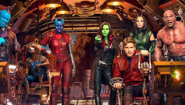 Los superhéroes de 'Vengadores: endgame'
