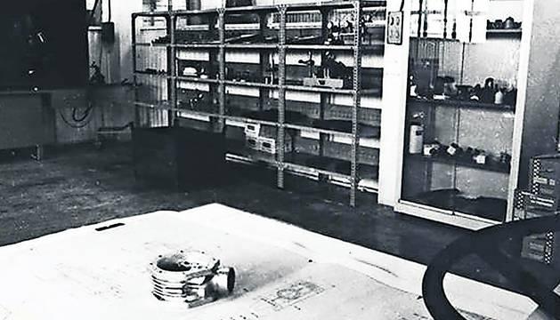 Imagen del departamento de Calidad en 1975.