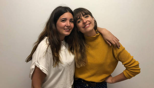 Andrea Santiago con Maialen Gurbindo Chica Sobresalto.