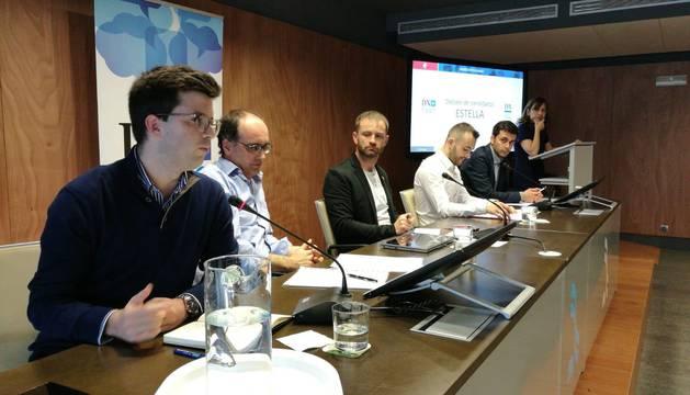 Debate electoral en Estella organizado por Diario de Navarra.