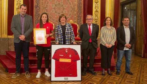 Reconocimiento a Osasuna Femenino por sus logros y contribución a la igualdad