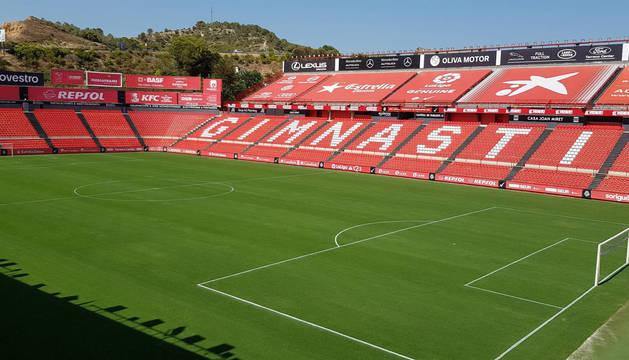 Los ojos del osasunismo estarán puestos en el Nou Estadi de Tarragona este sábado.