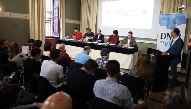 Sigue en directo el debate municipal en Tudela