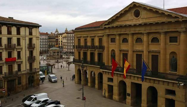 Palacio de Navarra, sede del Gobierno de la Comunidad foral.