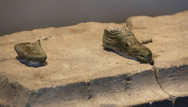 Foto de 'Escultura en bronce. Santacara' Época romana. Siglo I d. C. Procedencia: Santacara (Civitas Cara)