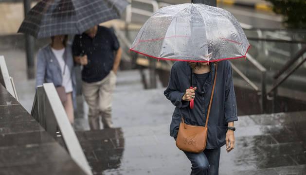 Las precipitaciones serán persistentes esta noche.