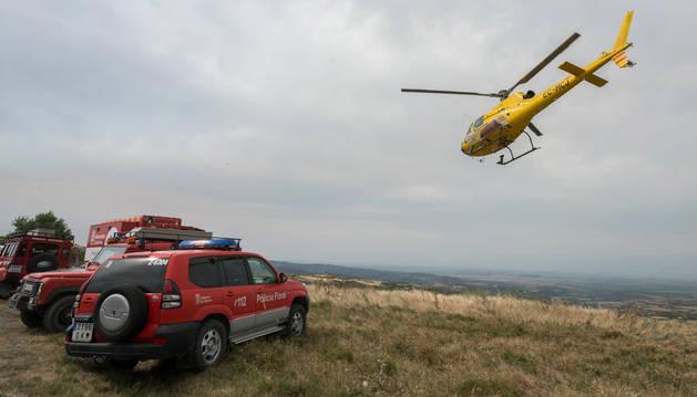 foto de El helicóptero medicalizado del Gobierno de Navarra atenderá un mayor número de emergencias médicas.