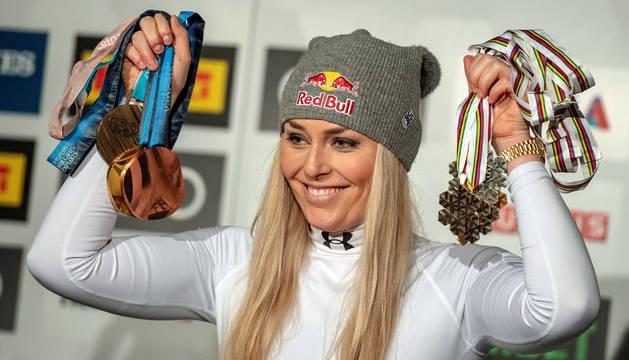 foto de La esquiadora Lindsey Vonn gana el Premio Princesa de los Deportes