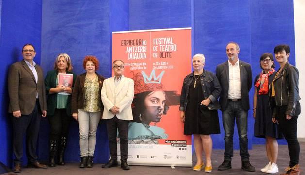 Presentación del XX Festival de Teatro de Olite.