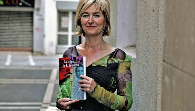 Con La soledad de la higuera, Maite Sota publica su segunda novela en Pamiela tras El informe Ulises.
