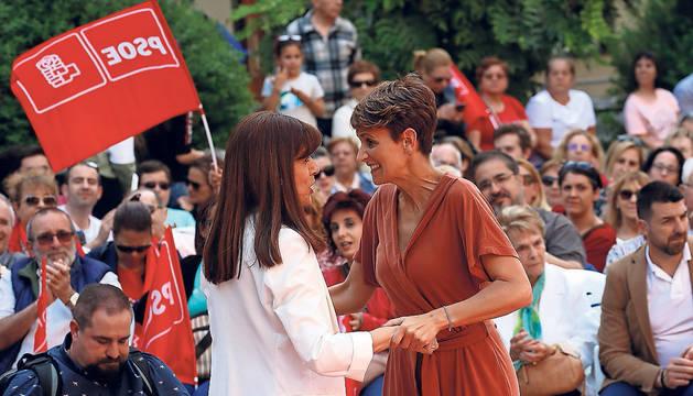 Chivite asegura que Navarra Suma no va a gobernar