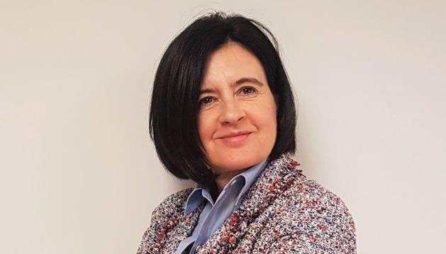 foto de Cristina Sotro, presidenta de la Asociación de Mujeres Empresarias y Directivas de Navarra (AMEDNA)