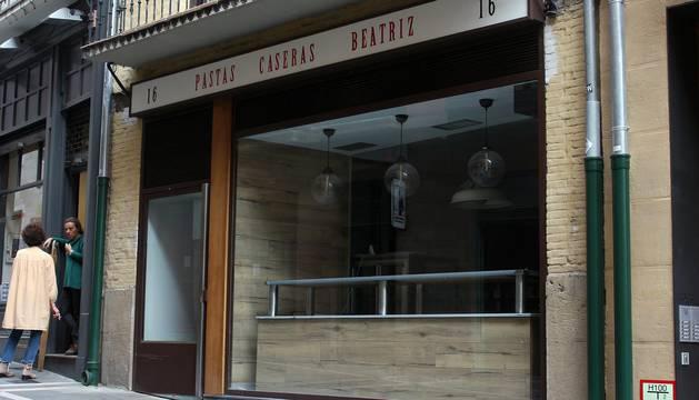 Pastas Beatriz inaugura este fin de semana su nueva tienda en Pamplona