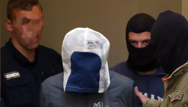 Josu Ternera, trasladado por la policía para prestar declaración ante el juez