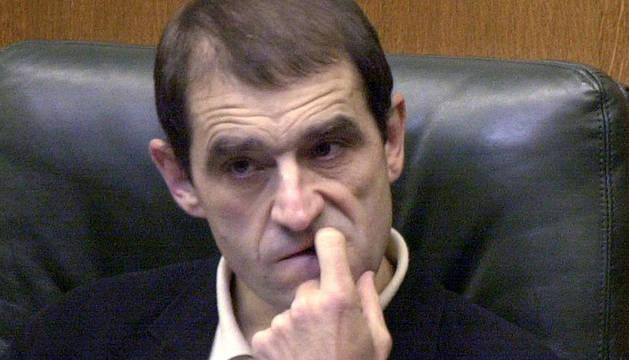 Imagen de archivo de Josu Ternera en el Parlamento Vasco.