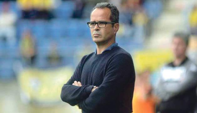 El entrenador del Cádiz, Álvaro Cervera.