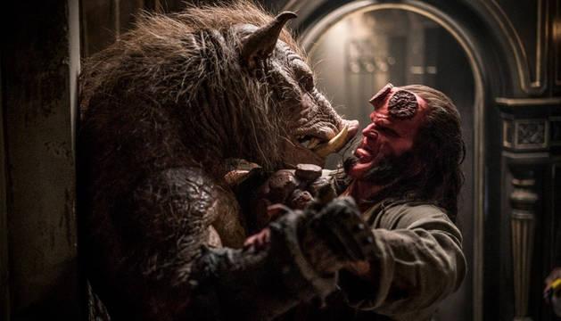 foto de Un momento de la película 'Hellboy'