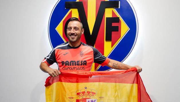foto de Santi Cazorla sorprendido por su convocatoria con la selección española