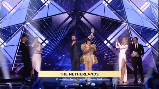 Holanda gana el festival de Eurovisión 2019