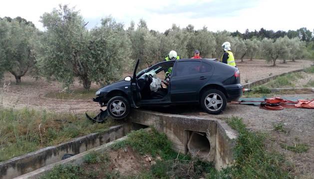 Cuatro heridos en sendos accidentes en Tulebras y Mélida