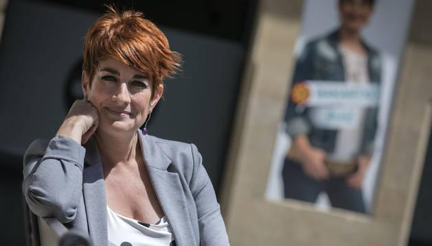 La aspirante a liderar el próximo Gobierno de Navarra cree que los centros concertados tendrán que acatar el programa Skolae.