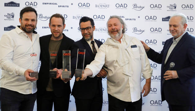 Etxebarri y Quique Dacosta, tercer y cuarto mejores restaurantes de Europa