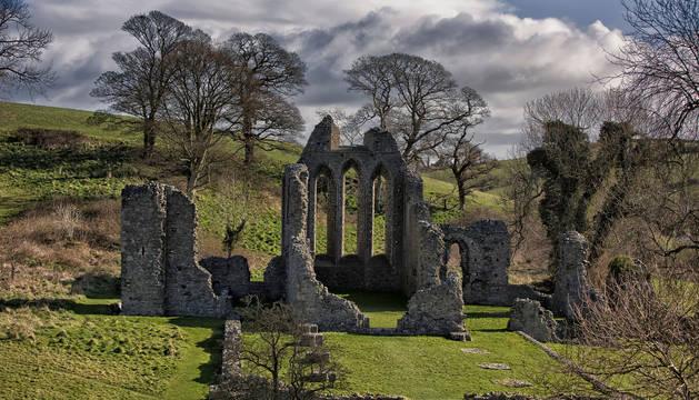 Ruinas en Irlanda del Norte donde se rodó parte de la serie 'Juego de Tronos'.