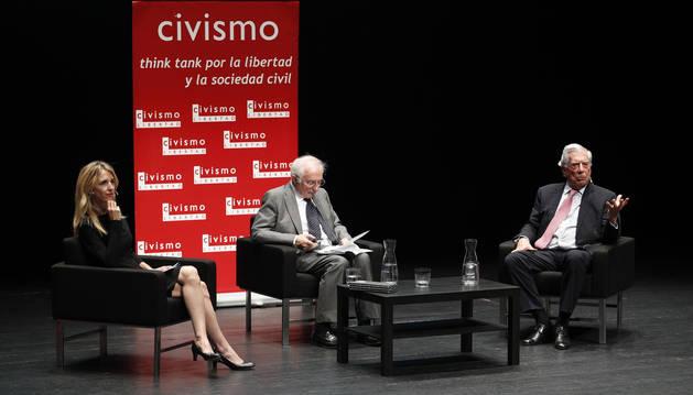 Vargas Llosa, en Pamplona: