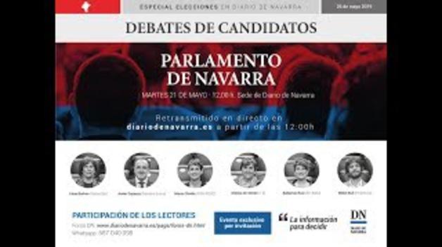 Vídeo del debate de candidatos a la Presidencia de Navarra