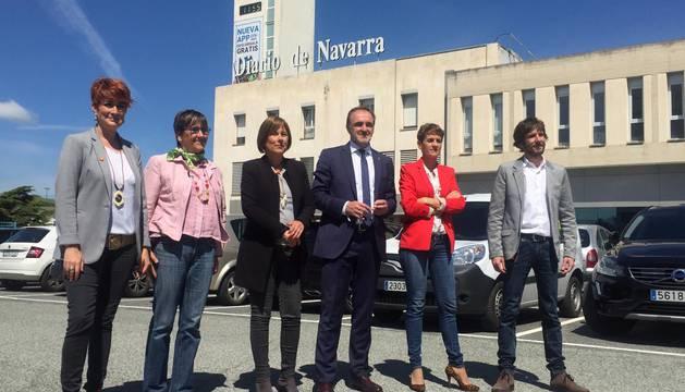 Los candidatos, en Diario de Navarra