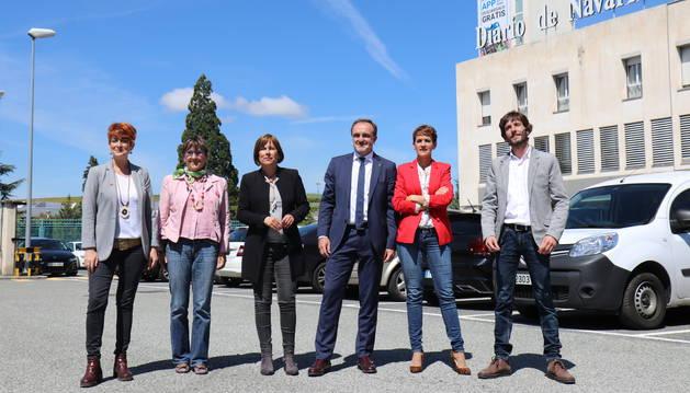 Candidatos a la Presidencia de Navarra