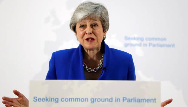 May ofrece a los diputados votar sobre un segundo referéndum del 'brexit'