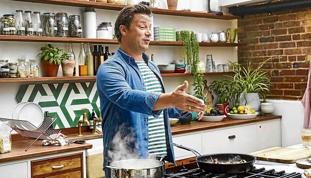 El chef Jamie Oliver.