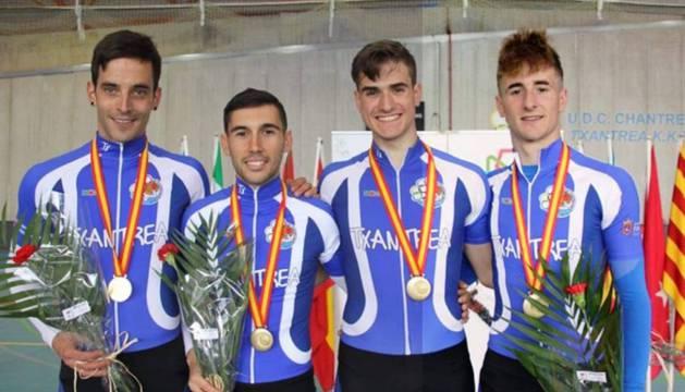 Navarra se cuelga un tercio de las medallas del Nacional
