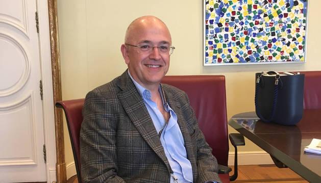Javier Urriza Mena, neurofisiólogo del CHN, en el IV Congreso de AMINE.