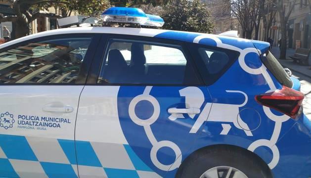 Un vehículo de la Policía Municipal.