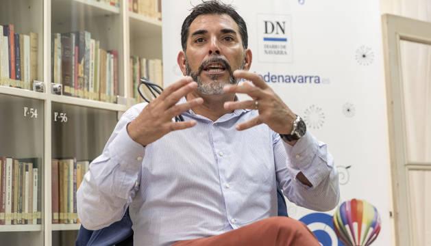 Víctor del Árbol en Pamplona