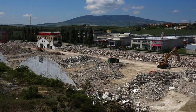 Desaparece la antigua fábrica de Super Ser