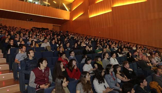 Foto del público asistente a la jornada de Naukas.