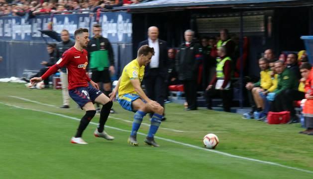 Galería de imágenes del Osasuna-Las Palmas disputado este sábado en El Sadar.