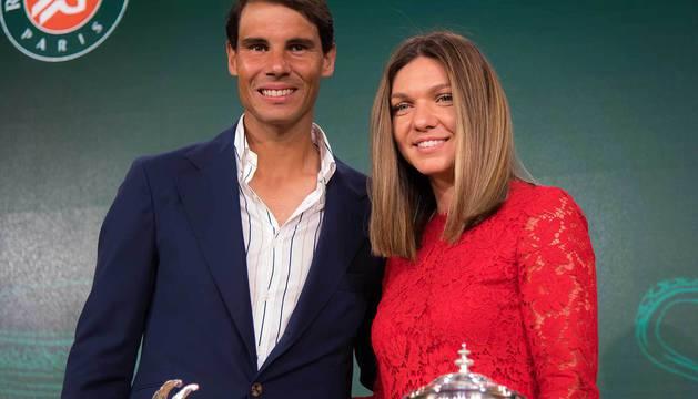 Rafael Nadal y Simona Halep, últimos ganadores de Roland Garros.