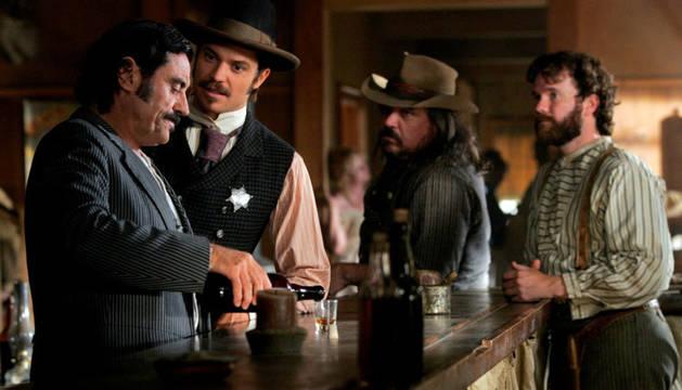 Una escena de la película 'Deadwood'.