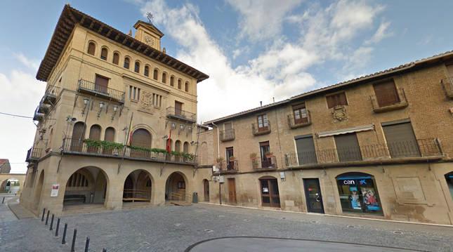 Foto del Ayuntamiento de Olite.