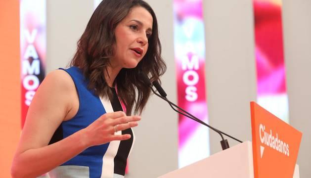 Arrimadas será la portavoz parlamentaria de Ciudadanos en el Congreso