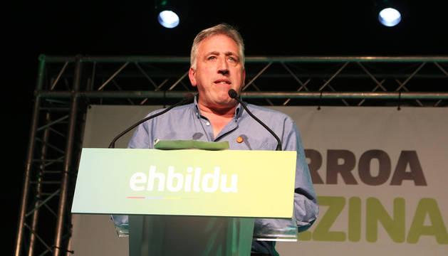 Foto de la noche electoral de EH Bildu.