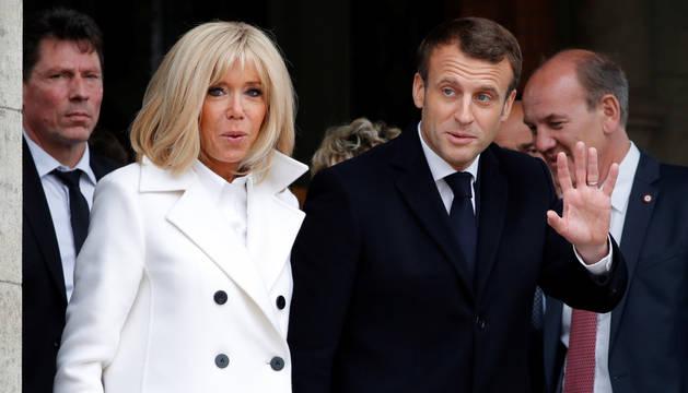 foto de El presidente de Francia, Emmanuel Macron